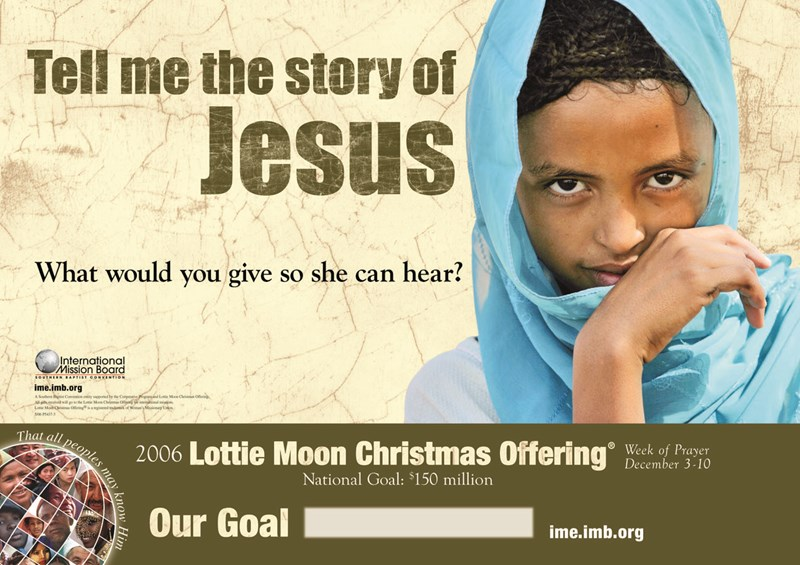 Lottie Moon Christmas Offering 2021 Goal Lottie Moon Missions Resources Available For 2006 Offering